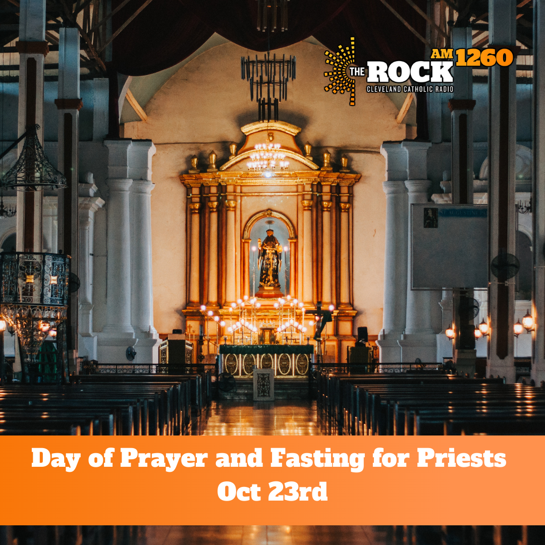 Day of Prayer and Fasting for Priests